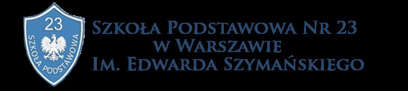Szkoła Podstawowa Nr 23 im. Edwarda Szymańskiego w Warszawie