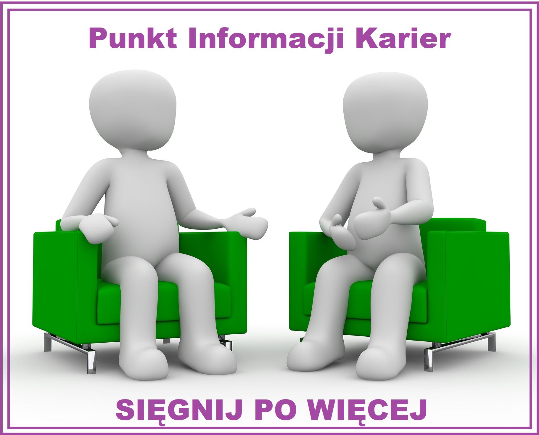 Program SIĘGNIJ PO WIĘCEJ - Punkt Informacji Karier